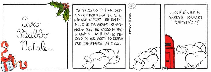 Caro Babbo Natale – la lettera di Quiff