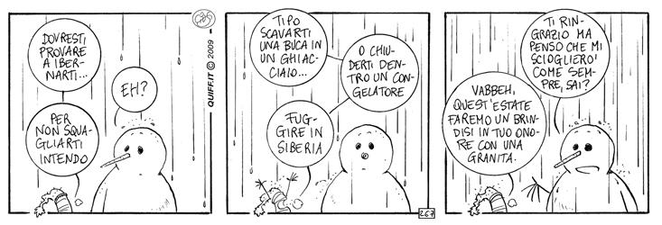 La neve in pioggia