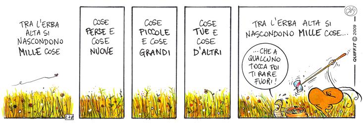 Tra l'erba alta